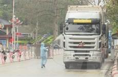 Phối hợp kiểm soát phương tiện vận chuyển hàng hóa tại cửa khẩu