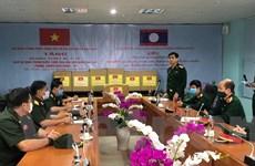 Bộ Quốc phòng Việt Nam cử chuyên gia y tế giúp Lào chống COVID-19