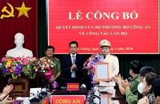 Đại tá Phan Huy Ngọc giữ chức Giám đốc Công an tỉnh Hà Giang