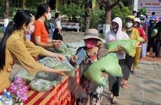 Học sinh làm 'ATM gạo' giúp đỡ người nghèo bớt khó khăn do COVID-19