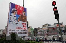 Triển lãm tranh cổ động về Ngày Giải phóng miền Nam và chống COVID-19