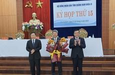Ông Hồ Quang Bửu được bầu làm Phó Chủ tịch UBND tỉnh Quảng Nam