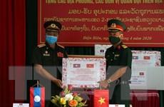 Trao tặng thiết bị y tế phòng, chống COVID-19 cho các tỉnh Bắc Lào