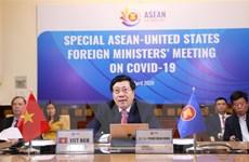 ASEAN hợp tác với Hoa Kỳ tìm biện pháp ứng phó với dịch COVID-19
