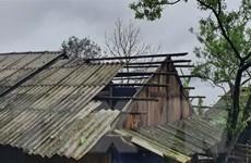 Mưa đá, dông lốc gây nhiều thiệt hại ở các tỉnh miền núi phía Bắc