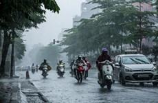 Khu vực Bắc Bộ có mưa to và dông, nhiệt độ ở Hà Nội từ 16-19 độ C