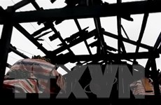 Hội Chữ thập Đỏ cứu trợ khẩn cấp các tỉnh bị ảnh hưởng bởi mưa đá