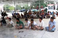Tây Ninh: Triệt xóa tụ điểm đánh bạc lớn ở khu vực biên giới