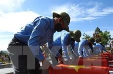 Đắk Lắk: Truy điệu, an táng 13 hài cốt liệt sỹ hy sinh tại Campuchia