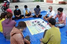 Tây Ninh: Triệt xóa tụ điểm đánh bạc quy mô lớn ở khu vực biên giới