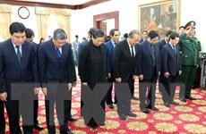 Đoàn đại biểu cấp cao Việt Nam viếng nguyên Thủ tướng Lào