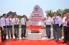 Thủ tướng cắt băng Khánh thành Công trình 'Hợp tác xã với Bác Hồ'