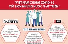 [Infographics] 'Việt Nam chống COVID-19 tốt hơn những nước phát triển'