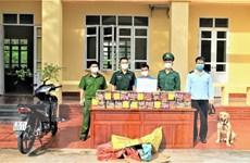 Quảng Ninh: Bắt giữ đối tượng vận chuyển pháo nổ trái phép