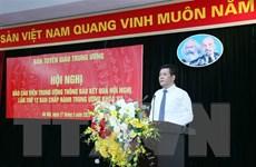 Tuyên truyền về kết quả Hội nghị lần thứ 12 Ban Chấp hành TW Đảng