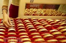 Giá vàng châu Á tăng nhẹ sau khi xuống mức thấp nhất trong 2 tuần