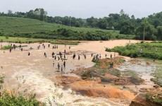 [Photo] Vỡ đập Đầm Thìn ở Phú Thọ, sơ tán khẩn cấp nhiều hộ dân