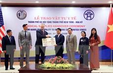 [Photo] Hà Nội tặng New York 150.000 chiếc khẩu trang phòng COVID-19
