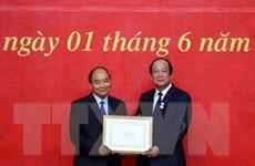Thủ tướng dự lễ trao Huy hiệu Đảng tại Đảng bộ Văn phòng Chính phủ