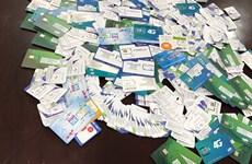 Tịch thu 6.900 SIM rác, xử phạt 21 điểm cung cấp dịch vụ viễn thông
