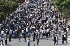 Biểu tình do khủng hoảng kinh tế ở Liban, nhiều người bị thương