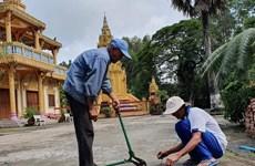 Nhà sư bắc cầu, làm đường, chăm lo cho người nghèo ở Kiên Giang