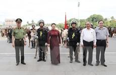 Thủ tướng và Chủ tịch Quốc hội dự lễ ra mắt cảnh sát cơ động kỵ binh