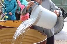 Nhiều khu dân cư ở Nghệ An thiếu nước sinh hoạt nghiêm trọng