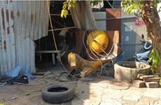 Bình Dương: Nổ bình khí nén, người vá lốp xe tử vong thương tâm
