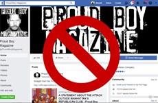 Facebook xóa gần 900 tài khoản lợi dụng biểu tình để kích động bạo lực