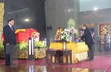 Lời cảm ơn của Ban Lễ tang và gia đình đồng chí Trần Quốc Hương