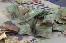 Tây Ninh: Triệt phá tụ điểm đánh bạc dưới hình thức lắc tài xỉu