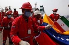 Tàu viện trợ lương thực, thực phẩm của Iran tới Venezuela