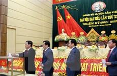 Phú Thọ rút kinh nghiệm sau Đại hội Đảng bộ huyện điểm đầu tiên