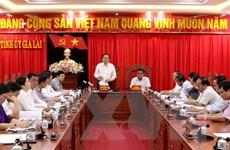 Đoàn Ban Bí thư TW Đảng làm việc với Ban Thường vụ Tỉnh ủy Gia Lai