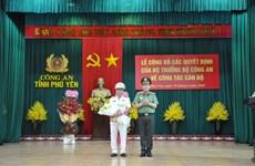 Đại tá Phan Thanh Tám được bổ nhiệm làm Giám đốc Công an Phú Yên
