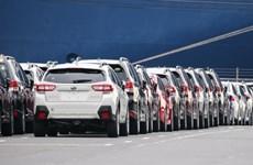 Doanh số bán xe của các hãng ôtô Nhật Bản tại thị trường Mỹ giảm mạnh