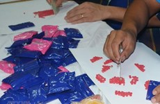 Bắt đối tượng vận chuyển trái phép trên 23.000 viên ma túy tổng hợp