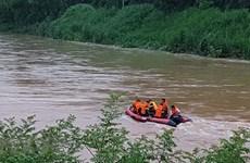Lai Châu: Tìm thấy thi thể nạn nhân trượt chân rơi xuống sông