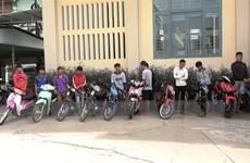 Tây Ninh: Bắt quả tang nhóm thanh, thiếu niên tụ tập đua xe trái phép