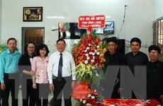 Lãnh đạo tỉnh Vĩnh Long chúc mừng Ban Đại diện Phật giáo Hòa Hảo