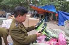 Tạm giữ hơn 3.000 đôi giày dép không rõ nguồn gốc xuất xứ