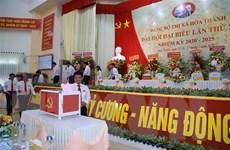 Tây Ninh tổ chức Đại hội điểm cấp trên cơ sở, trực tiếp bầu bí thư