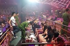 Phát hiện gần 100 đối tượng dương tính với ma túy trong quán bar