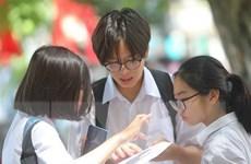 Phiếu báo dự thi vào THPT Chuyên Nguyễn Huệ nhầm thông tin địa điểm