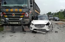Hòa Bình: Tai nạn giao thông liên hoàn làm một người tử vong