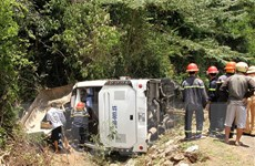Vụ lật xe ở Quảng Bình: Số nạn nhân thiệt mạng tăng lên thành 15