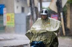 Một số tỉnh Bắc Bộ có mưa to trong đêm, người dân đề phòng lốc, sét