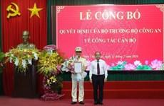 Thượng tá Nguyễn Thanh Tuấn làm Giám đốc Công an tỉnh Thừa Thiên-Huế