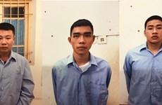 Đề nghị truy tố ba bị can trong vụ cướp ngân hàng tại Sóc Sơn